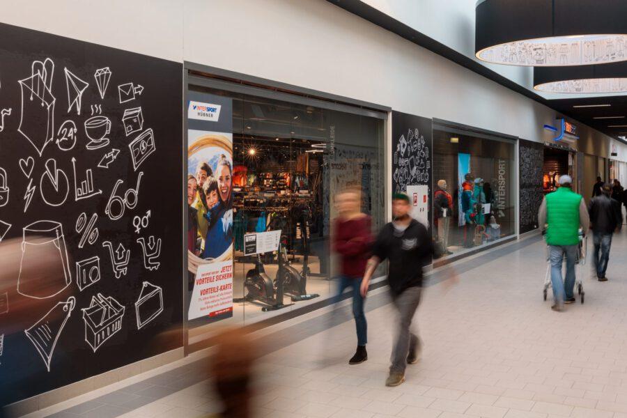 Neueröffnung des Brandenburger Einkaufszentrums Wust: Etabliertes Center ist fit für die Zukunft