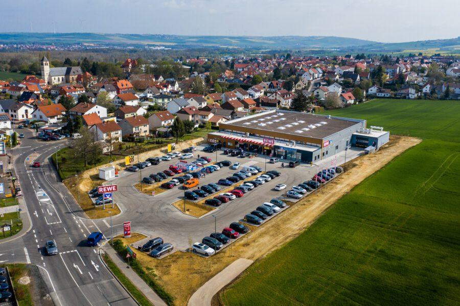 redos acquires REWE consumer market in Hettenleidelheim