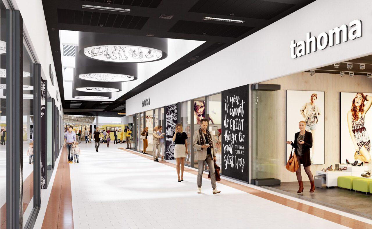 redos startet Umbau: Brandenburger Einkaufszentrum Wust wird umfassend modernisiert